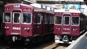 Hankyu trains