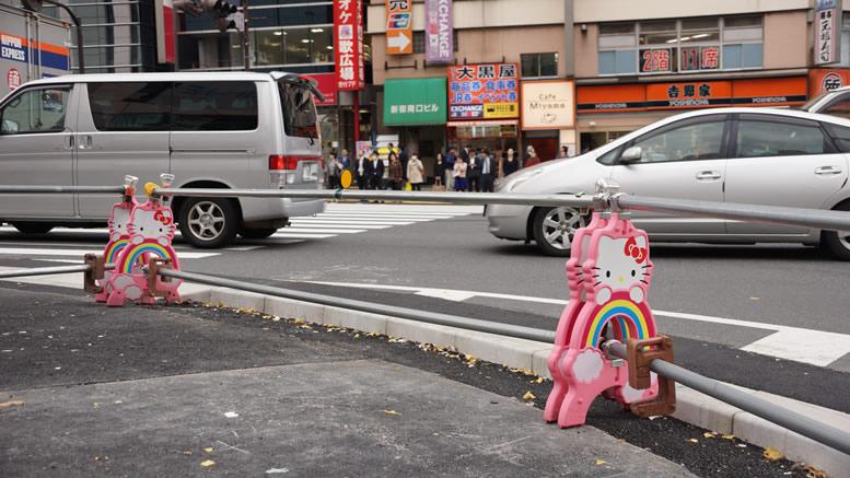 Hello Kitty Construction Barier