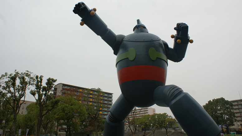 Tetsujin 28 Go Statue